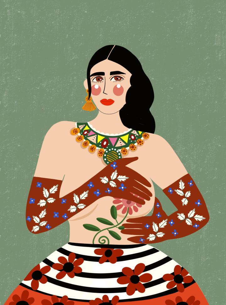 Femininity: Dina Razin