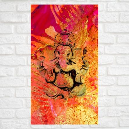 Ganesh - 3 - Mounted