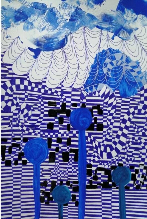 Blues by Ellen Claes