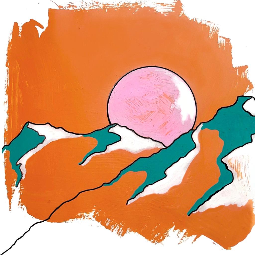 The Orange Moon - Sion Knight