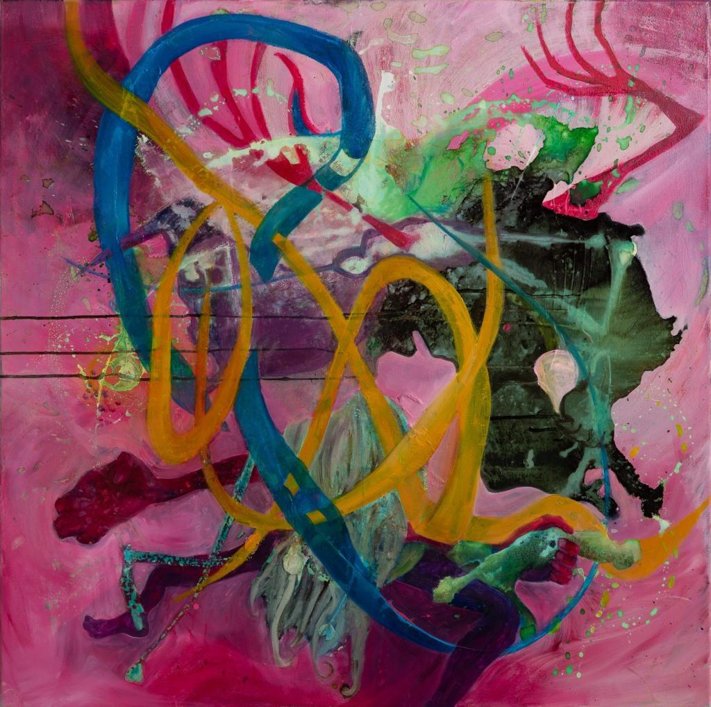 I Surrender Dear by Artist Eefje Van den Brande