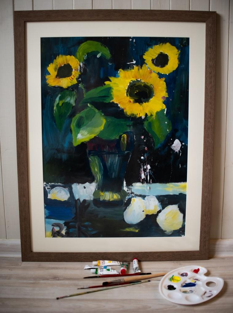 The Sunflowers - Roberta Dickute